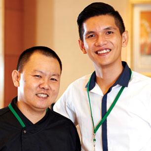 Sheraton Bali Kuta Resort  winnersFandy Wijaya AdiFerdy Iman Harefa