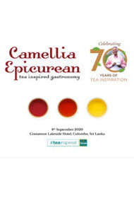 Camellia Epicurean Tea Inspired Gastronomy Menu for 2020