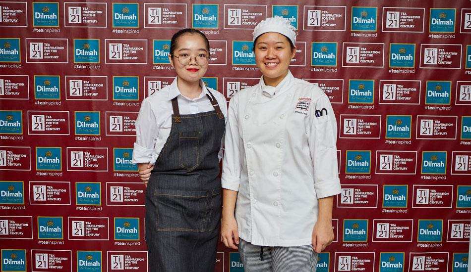 TAMASEK POLYTECHNIC: Rachel Liow Ying Fei & Zenna Loh Jyn Ting