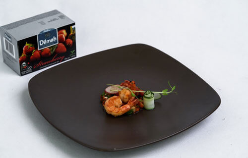 Grand Mercure Jakarta Harmoni - Sauteed Spicy Shrimp Avocado Sals