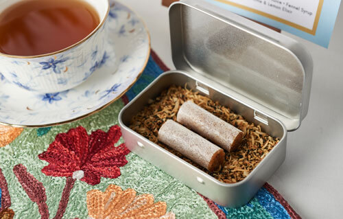 Nanyang Polytechnic - Smoked Coconut Candy with Calming Chamomile Lavendar Orange Tea