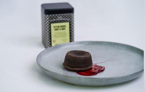 The Ritz Carlton Pacific Place Jakarta - Chocolate Molten Fermented Belimbing Wuluh