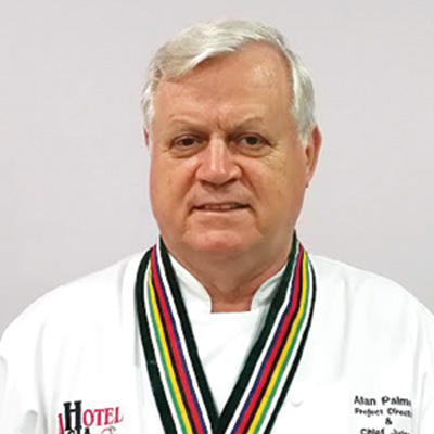 Alan Palmer the Ambassador of the Singapore Chefs Association
