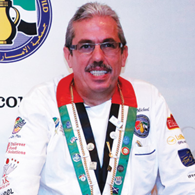 Uwe Micheel The President of Emirates Culinary Guild