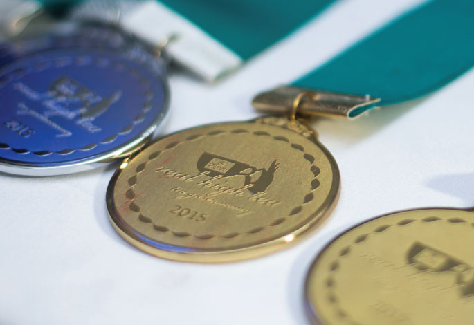 Prize Medals for The Tea Inspired