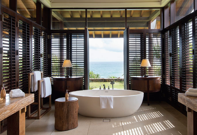 Inside view of the Luxury Hotel Cape Weligama