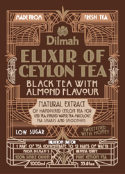 Black Tea With Almond Flavour
