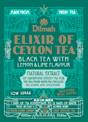 Black Tea with Lemon & Lime Flavour
