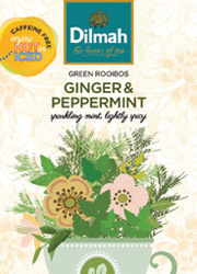 GREEN ROOIBOS GINGER & PEPPERMINT