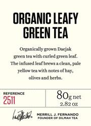 Organic Leafy Green Tea