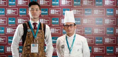 Prambudiyono ( Chef) & Donny ( F&B person) <br> The Ritz Carlton Pacific Place Jakarta