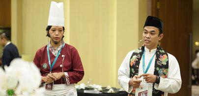 Septian ( Bartender) & Yuri (chef)<br> Le Meridien Jakarta