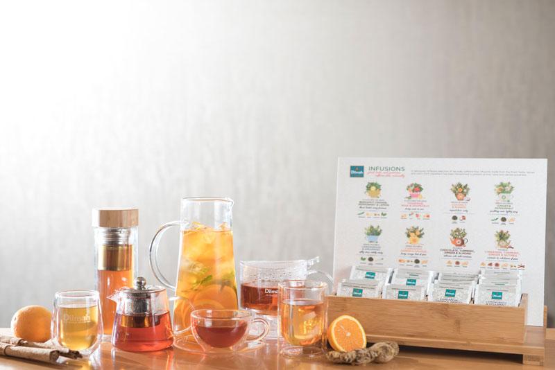 Freshly brewed iced teas