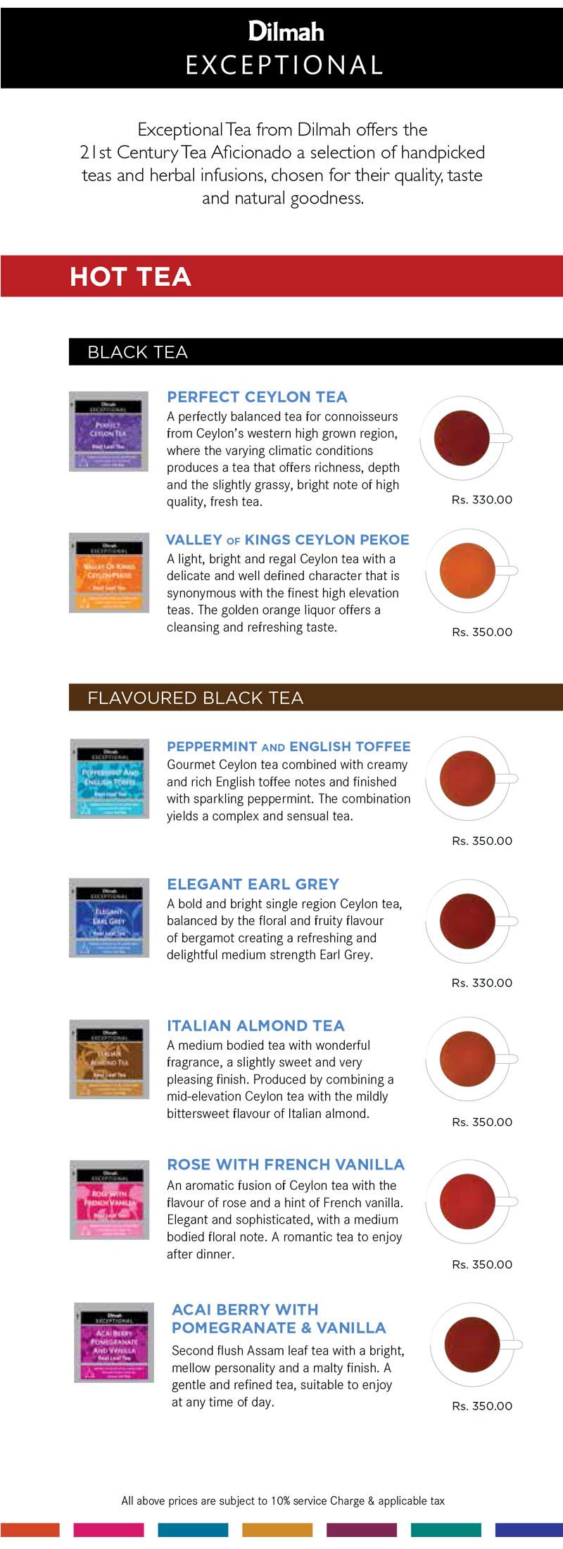 Dilmah Exceptional Teas