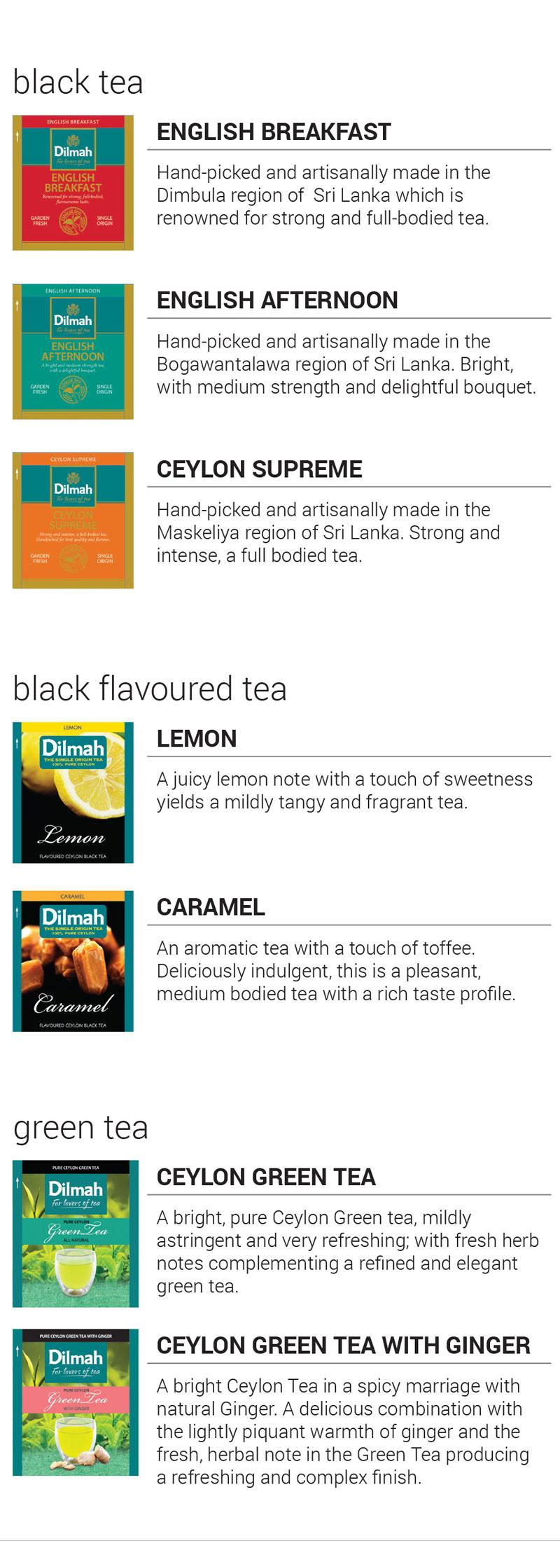 Dilmah Speciality Teas