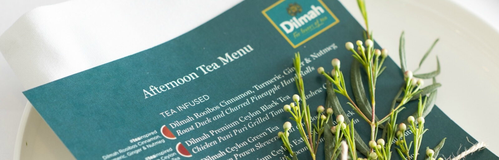 Craft a Tea Inspired Dining Experience