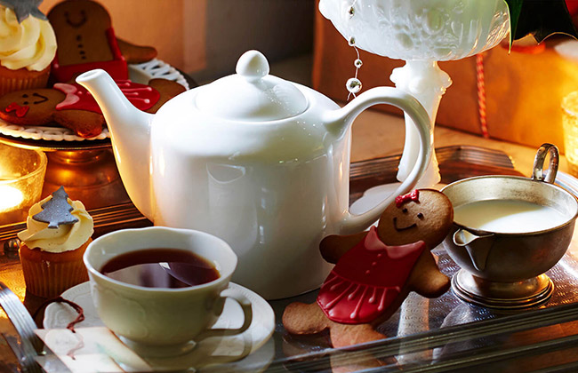 Tea Inspired Christmas Challenge - 2017