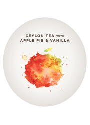 Ceylon Tea with Apple Pie and Vanilla