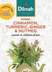 GREEN ROOIBOS CINNAMON, TURMERIC, GINGER & NUTMEG