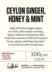 Ceylon Ginger, Honey & Mint