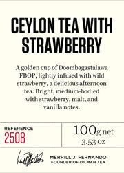 Ceylon Tea with Strawberry