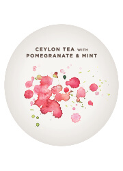 Ceylon Tea with Pomegranate & Mint